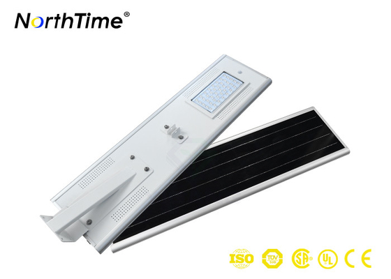 Chiny ECO Friendly 4400Lm Solar Street Lamp , Solar Integrated Street Light With Solar Panel dostawca