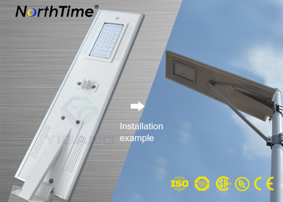 Chiny Infrared Motion Sensor Solar Panel Street Lights Outdoor With Lithium Battery dostawca