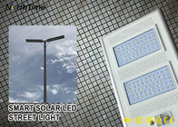 Chiny IP65 Smart Control Solar Powered LED Street Lights With Solar Panel & Lithium Battery fabryka