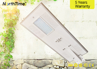 All In One Solar Outdoor Light 80W Solar Street LED Light z panelem mono 100W