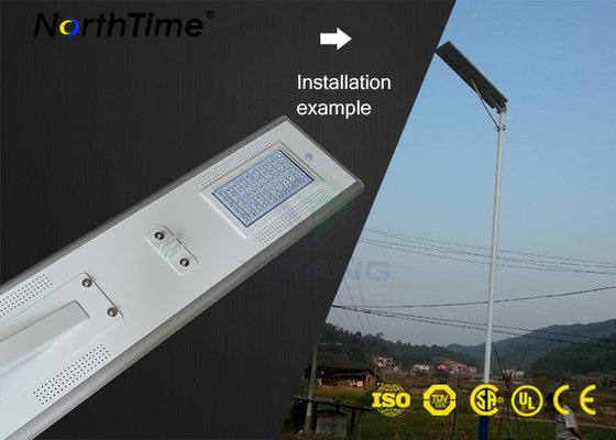 Chiny IP65 High Power Solar Lights Aluminum Automatic Street Lighting With Solar Panel fabryka