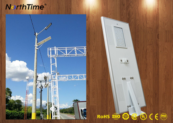 Chiny Rust proof Outdoor Lighting Integrated Solar Street Light Can Work 7 Rainy Days fabryka