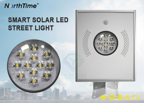 Chiny 5 Years Warranty Solar Led Powered Street Lights All in One Design With Lithium Battery fabryka
