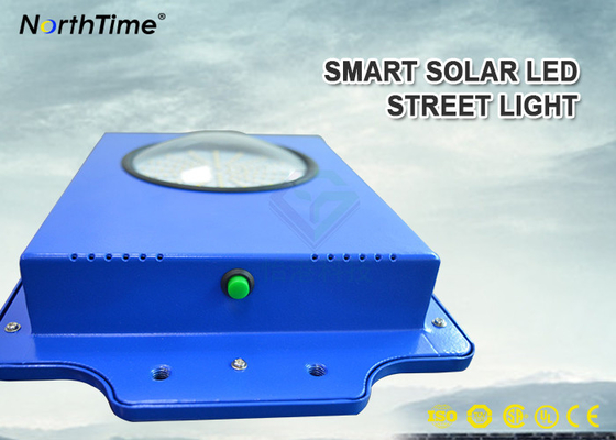 Chiny Time Control 6W Smart Solar Street Light 600-700LM With Infrared Motion Sensor fabryka